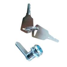 16mm-Drawer Tubular Cam Safety Lock For Door Mailbox Cabinet Cupboard 2 Keys