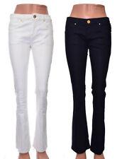 Topshop Indigo, Dark wash Regular Mid Jeans for Women