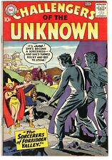 Challengers of the Unknown #6 - DC 1959-FN (6.0) - Bagged Boarded
