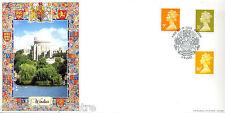 2005 9P, 35 pence & 46P NUOVO Definitives-Bradbury WINDSOR COVER