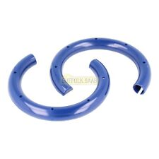 SAAB 93 9-3 03-12MY FRONT COIL SPRING BLUE SLEEVES X2 13178464 GENUINE SUFFOLK