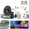 5V USB WS2812B Led Strip Light RF Bluetooth Music Controller TV Background 1-5M