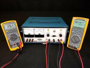 Heath Zenith SP-2717 Vacuum Tube Variable High Voltage B+ Power Supply - REBUILT