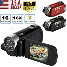 1080P HD Camcorder Digital Video Camera TFT LCD 16MP 16x Zoom DV AV USA