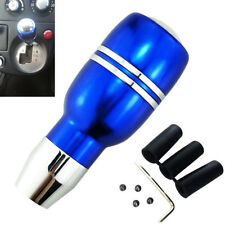 Blue Universal Car SUV Automatic Gear Stick Aluminum Shift Knob With Wrench Tool