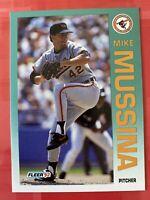 MINT! Mike Mussina Rookie Card 1992 Fleer #20 Baseball RC SHARP! Set Break