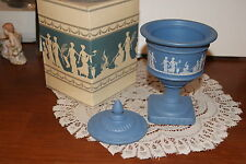 1973 Avonshire Blue Perfumed Candle Holder