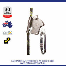ZERO Guided Rope Fall Arrester/ Rope Grab with Karabiner