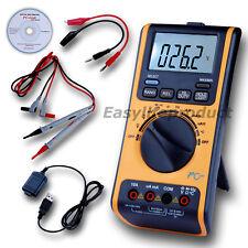 Risepro Digital Multimeter Voltmeter Thermometer Ohm USB/CD AP