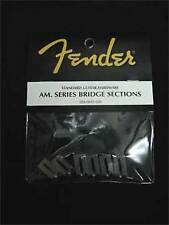 Fender Genuine American Series Strat or Tele Bridge Sections 6 Guitar Parts
