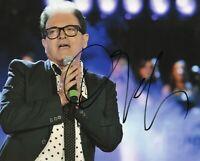 Foto Autografo Cristiano Malgioglio Asta di Beneficenza Signed Original Music