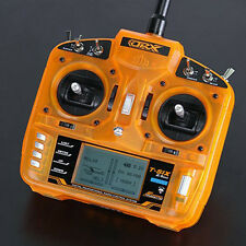 OrangeRx T-SIX 2.4GHz DSM2 Compatible 6CH Programmable Transmitter (Mode 2 ver.)
