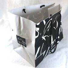Saks Fifth Avenue Signature Shopping Gift Bag Rare 2007 Design Pentagram Bierut