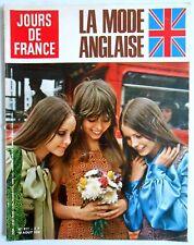 ►JDF 817/1970-LA MODE ANGLAISE-FRANCOISE HARDY-JACQUES DUTRONC-GRACE KELLY-ADAMO