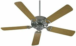 "Quorum International 143525-9 Estate Patio Fan, 52"", Galvanized"