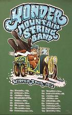 YONDER MOUNTAIN STRING BAND WINTER TOUR 2013 CONCERT POSTER YMSB SILKSCREEN