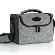 Canon EOS M1 M2 M3 M6 M10 M50 M100 Camera Case Shoulder Bag w/ Strap Gray
