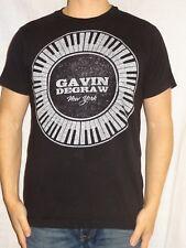 Gavin Degraw New York 2012 Tour Tultex Cotton Black Graphic Tee Small