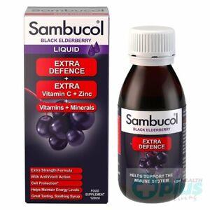 Sambucol Extra Defence - Black Elderberry - 120ml