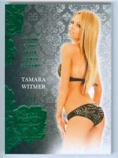 "TAMARA WITMER ""GREEN BASE CARD /3"" BENCHWARMER 25TH ANNIVERSARY"