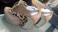 Zapatos plataforma Chinese Laundry Nude talla 37 (Irregular Choice look)