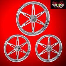 "Harley Davidson Trike FLHXXX Custom Wheels ""6ix Shooter"" by FTD Customs"