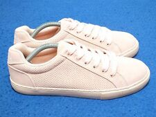 Nautica Steam Women's Perforated Suede Sneakers Pink Size 7.5 US