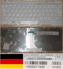Keyboard Qwertz German TOSHIBA Satellite T135 T135D M900 9J.A8480.029 White