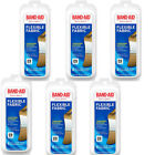 Band Aid Flexible Fabric Bandages Travel Pack (8 count), 6 Packs