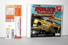 MONACO GRAND PRIX RACING SIMULATION 2 GIOCO USATO OTTIMO SEGA DREAMCAST JAP GS1