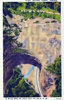 Natural Tunnel Virginia Gate City Virginia Linen Vintage Postcard