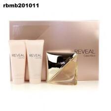 Calvin Klein REVEAL Gift Set 3pcs 3.4 Oz Edp /shower Gel 3.4 Oz /lotion 3.4 New