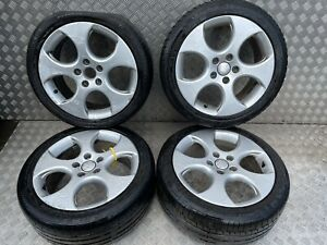 2011 VW GOLF MK6 GTI SET OF ALLOY WHEELS WITH TYRES 17 INCH 225/45R17 7.5JX17H2
