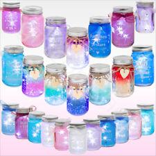 Firefly Light Up LED Glass Jars Bottles Gift For Family Friends Home Decoration
