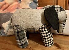 Muji Tweed Recycled Soft Toy Elephant