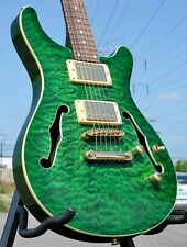 Ars SEMI HOLLOW BODY * DOUBLE CUT * Quilted Maple * humbucker * Grover * Mogano