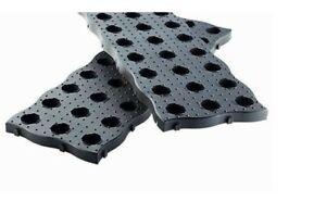 Garantia Beetplatten Maxi 70 x 24 cm 4 Stk Braun Trittplatte Gartenplatte