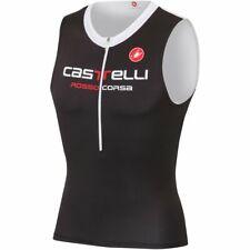 Castelli Men's Body Paint 2 Triathlon Tri Top - Black (Medium)