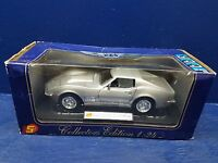 Club 24 Collectors Edition 1:24 Die Cast silver 1968 Chevrolet Corvette L88 NEW