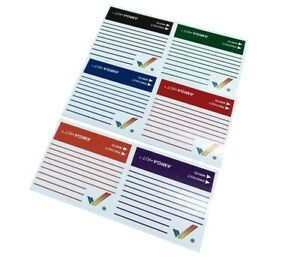 Rainbow Floppy Disk Labels 6x Adhesive Stickers new from Amiga Kit     12668