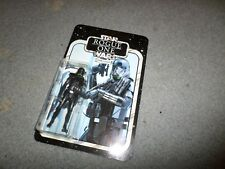 STAR WARS ROGUE ONE CUSTOM CARDED DEATH TROOPER MOC