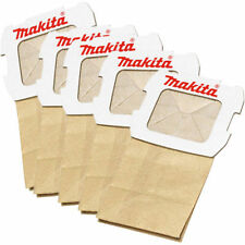 Genuine Makita 194746-9 Vacuum Cleaner Bags 5Pcs Pack Bo4555 4558 5041 Bo3711