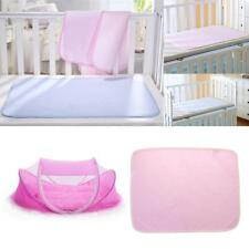 Baby Foldable Travel Sleep Bed Mosquito Net Mattress Tent Crib+ Play Sheet S