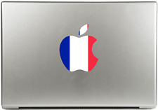 Apple Macbook upgrade Sticker France French Français Apple Decal New