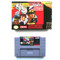 JoJo's Bizarre Adventure for snes game cartridge english translated