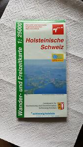 Wander- und Freizeitkarte Holsteinische Schweiz