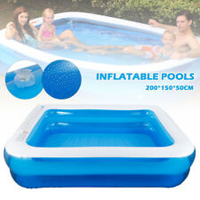 Large Swimming Pool Outdoor Garden Summer Inflatable Kids Adults Paddling Pools