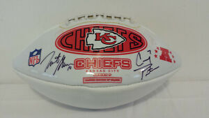 Kansas City Chiefs Autographed Football Signed by 5 Players