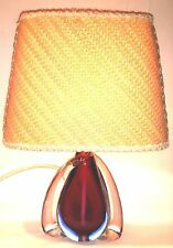 VINTAGE MURANO LAMPADA DA TAVOLO Seguso Sommerso anni 60er 35cm