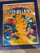 Limited Collectors' Edition C-39  DC 1975 Treasury Secret Origins Super-Villains
